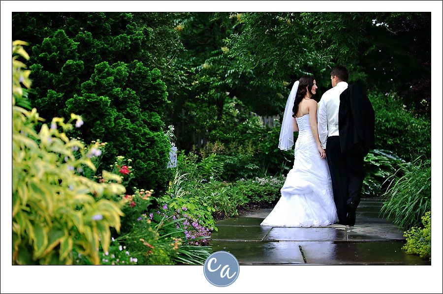 wedding picture locations akron ohio%0A Wedding portrait at the Cleveland Botanical Gardens       East Boulevard   Cleveland  OH