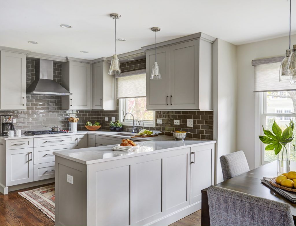 A Transitional Update to a 1980s House - The Kitchen ...