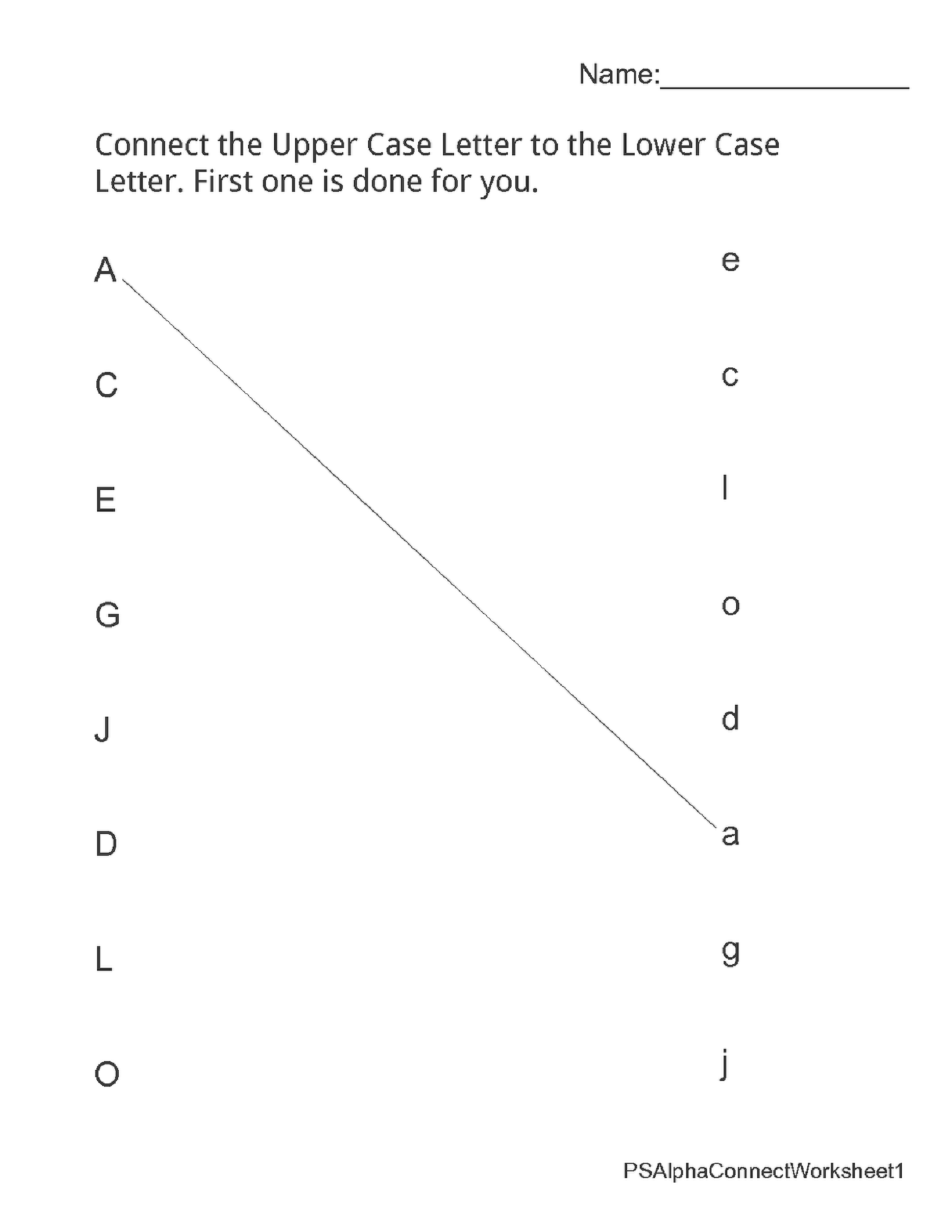 kindergarten alphabet worksheets for children alphabet learning