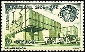 Pabellón España Expo Nueva York 1964_Javier Carvajal