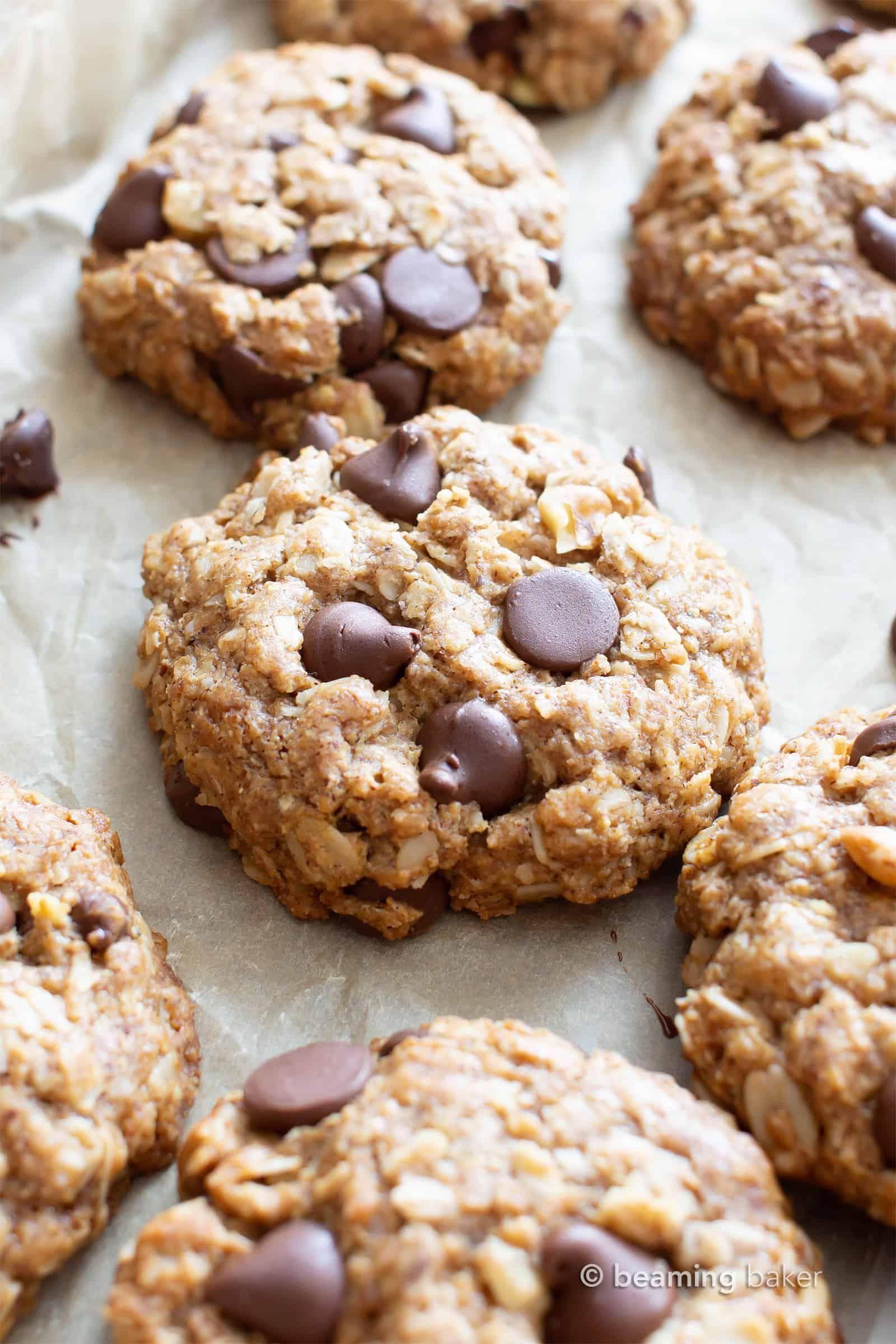 My Favorite Vegan Oatmeal Chocolate Chip Cookies Gluten Free