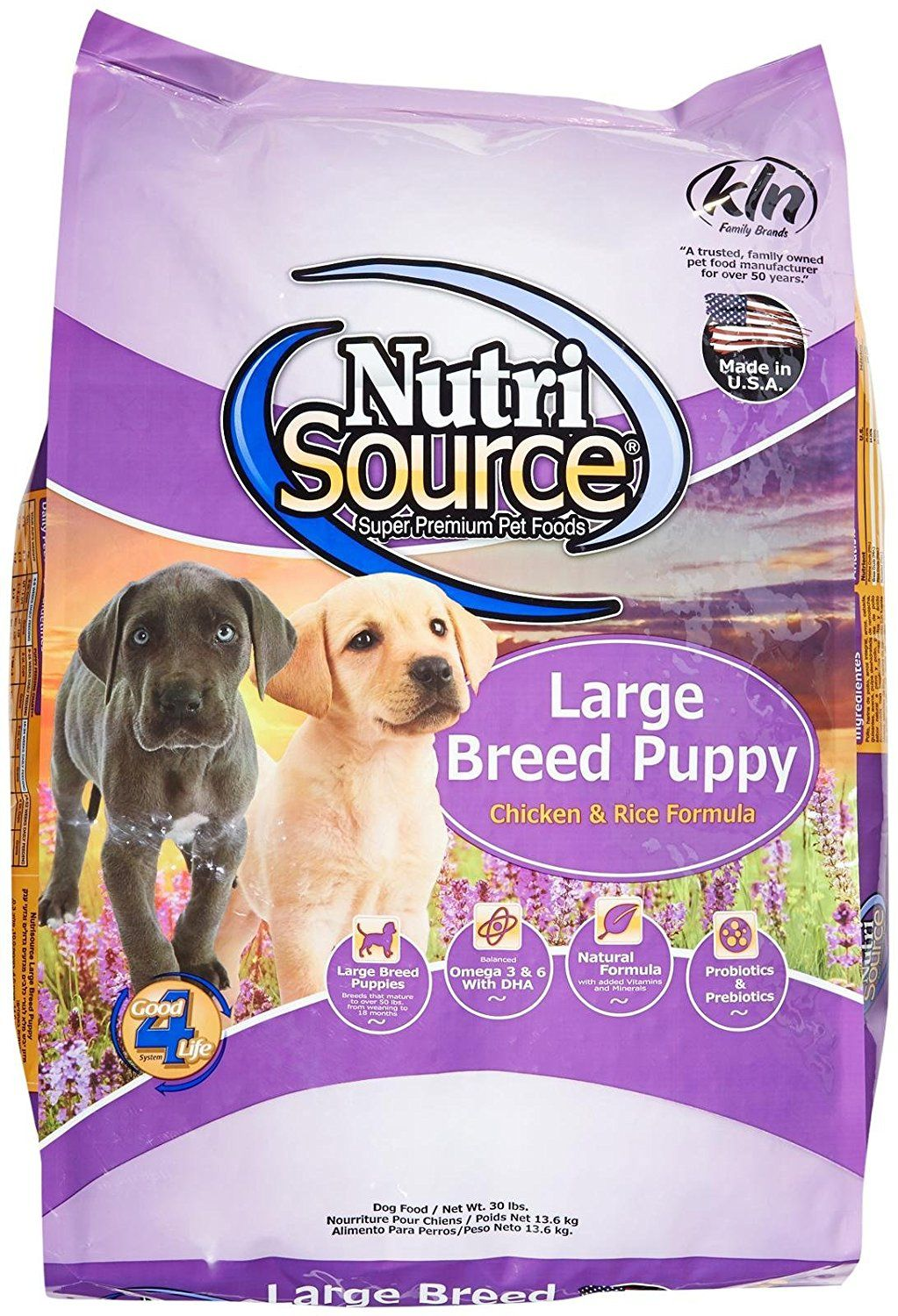 Tuffys Pet Food 131115 Nutri Large Breed Chickenrice Puppy Food