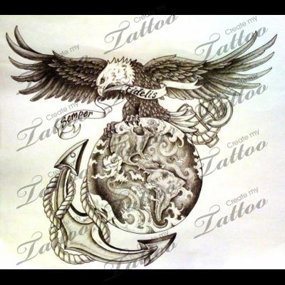 Pin By Mark Ritter On Usmc Tattoos Usmc Tattoo Military Tattoos Tattoos