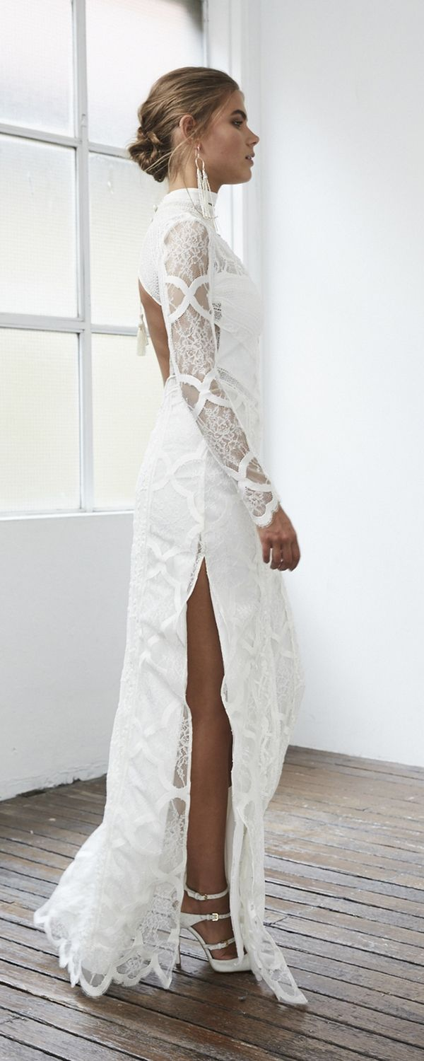 Grace loves lace u unique bohemian lace wedding dresses bohemian