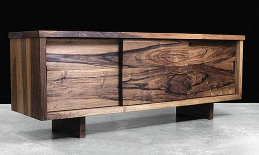 Moderne Wohnzimmermöbel aus Massivholz und mit exotischer Farbe ...