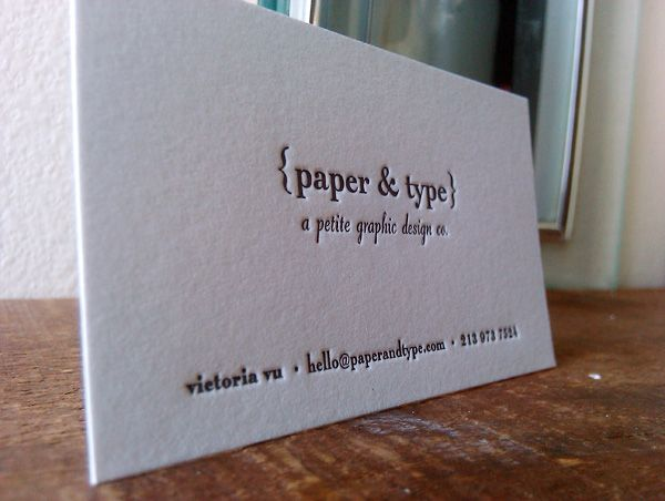 Paper type typography business cards cards invitations paper type typography business cards colourmoves