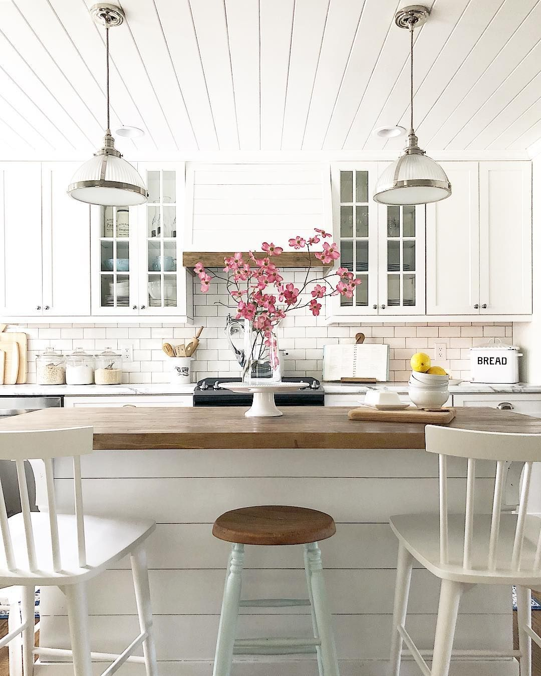 hope you re all having a restful sunday our kitchen looks rh pinterest ca