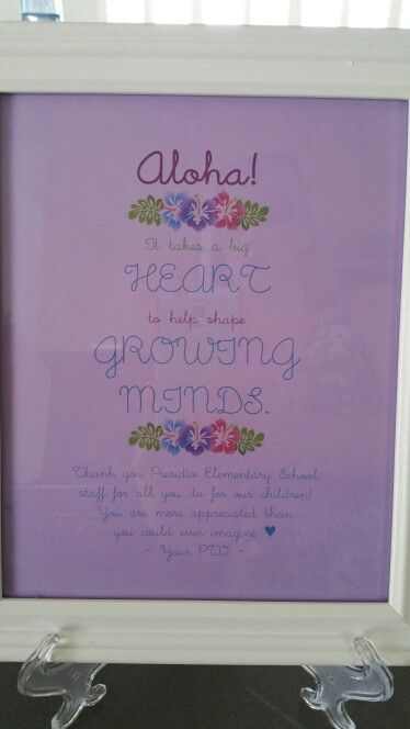 Aloha Teacher Appreciation Luncheon Invitation Luau Theme Invite For