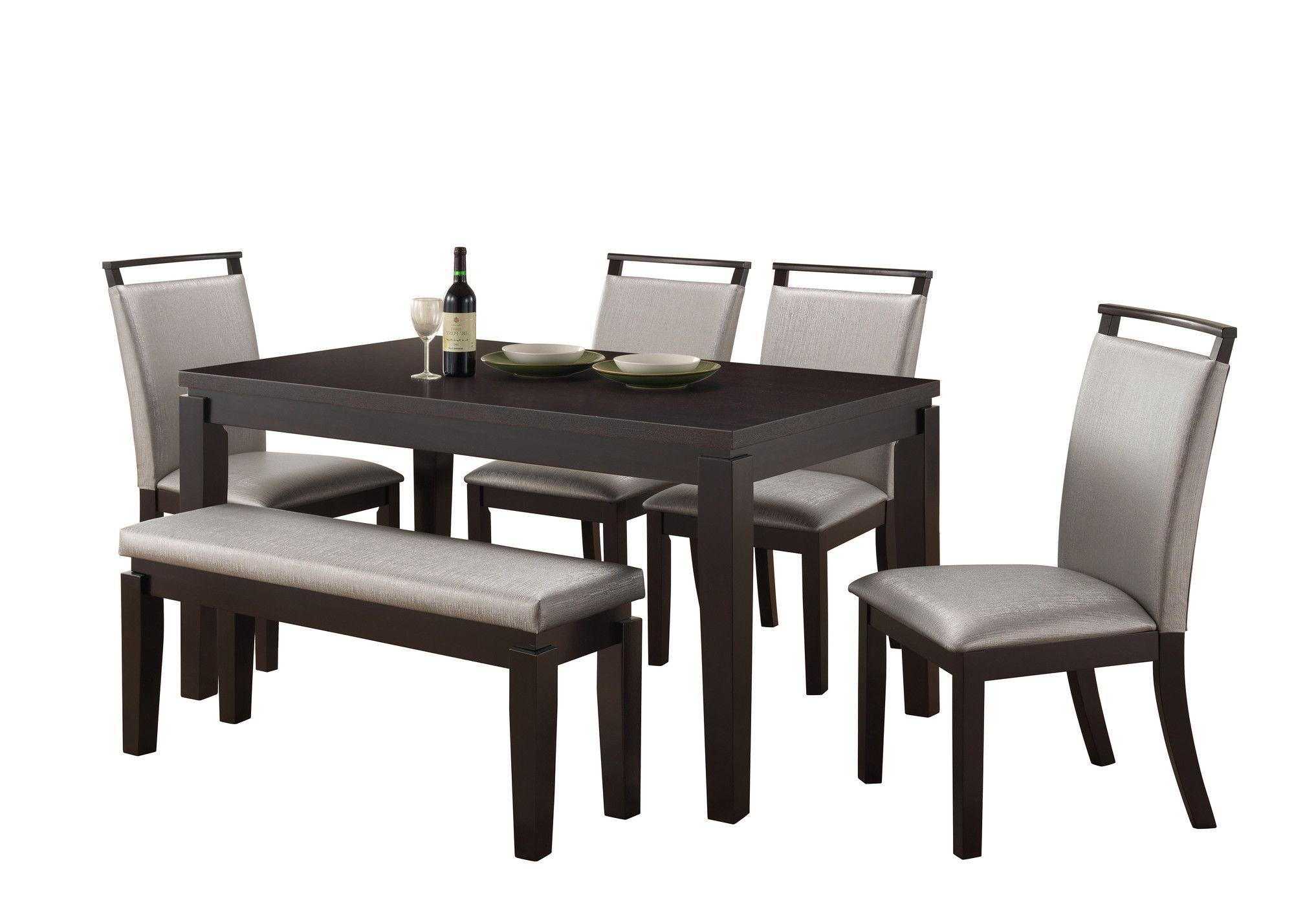 Garett Upholstered Dining Bench | Küchen, Bänke und Küchenbänke