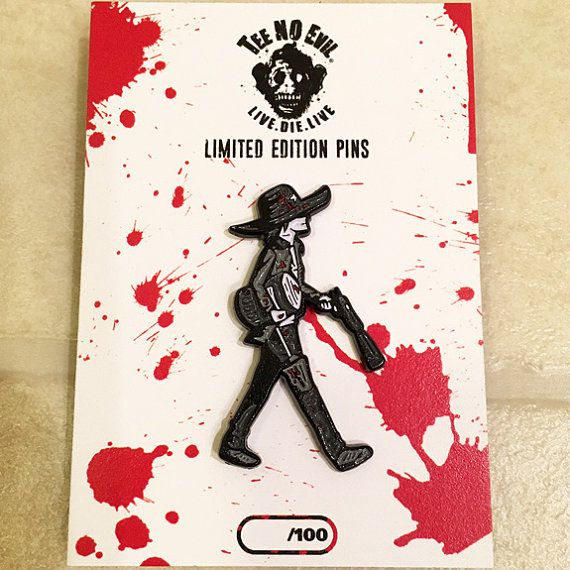 Carl Grimes Pudding Limited Edition Enamel Pin The Walking Dead