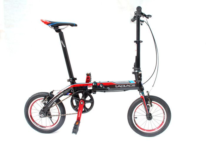 Laplace L412 14 Quick Release Folding Bicycle Mechanical Disc