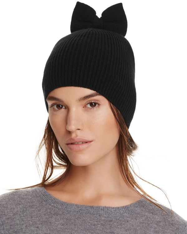 kate spade new york Knit Hat with Bow