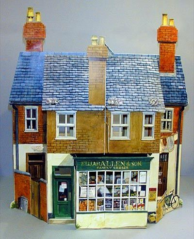 moseley pop up keith moseley paper pop up 180 scape house rh pinterest com