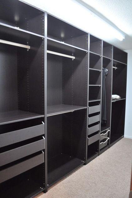 Walk in closet more affordable way to renovate nursery Bygga hus - kleiderschrank schiebeturen stauraumwunder