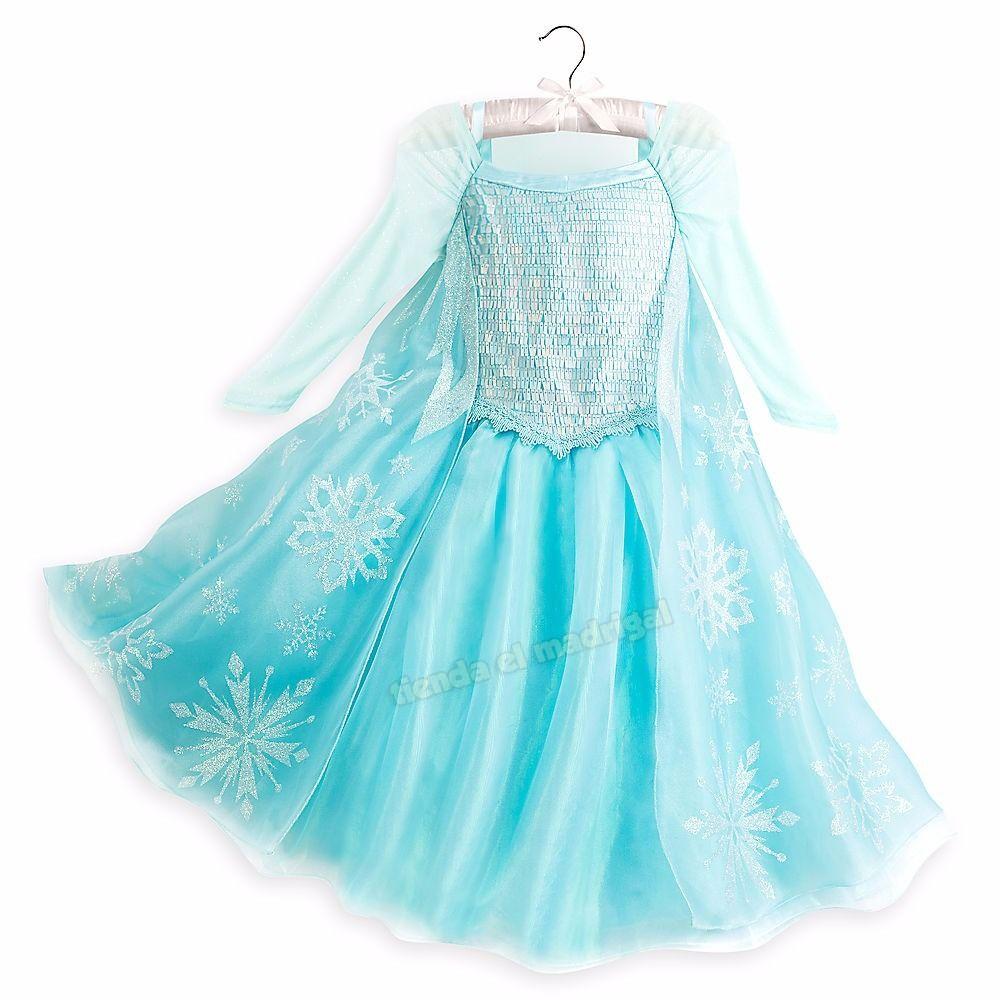 Vestido Disfraz Elsa Frozen Original Disney Store Eeuu - $1.799,90   Vestido  de elsa frozen, Disfraz elsa, Vestido elsa