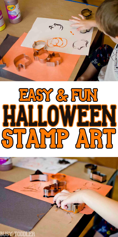 halloween stamp art halloween pinterest halloween activities rh pinterest ca
