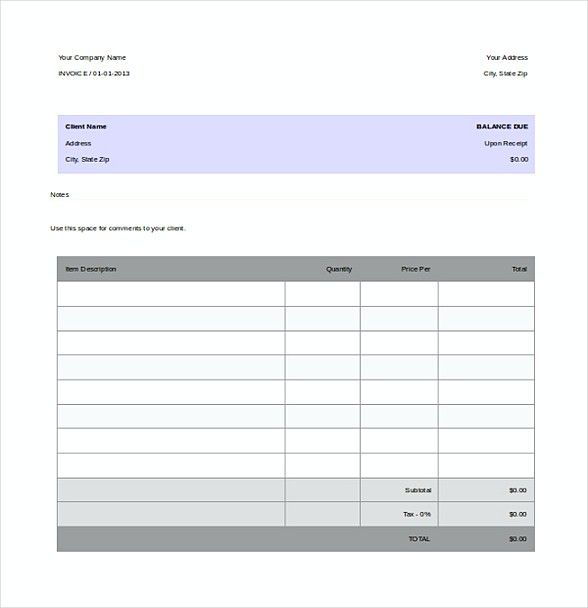 Tax Invoice , Basic Invoice Template and General Writing - basic invoice template