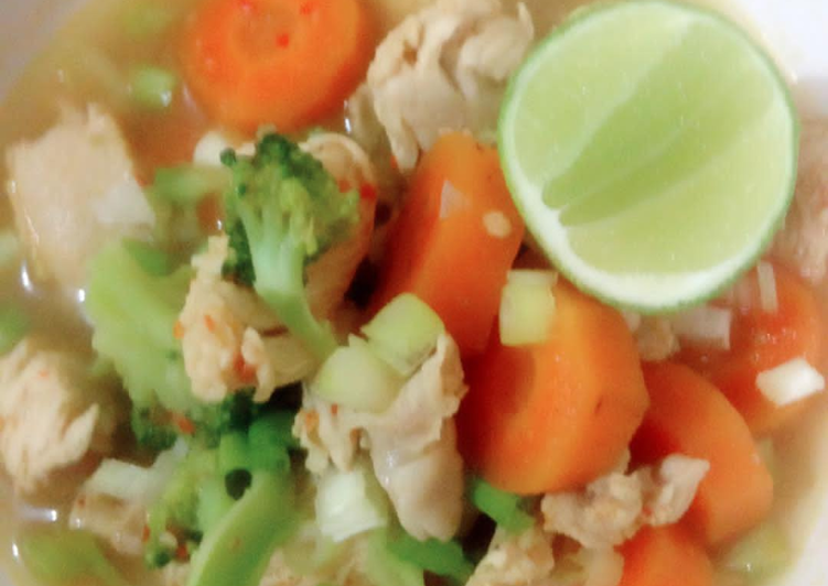 Resep Ayam Rebus Diet Maree Oleh Avriel Resep Resep Makanan Sehat Resep Ayam Makanan Sehat