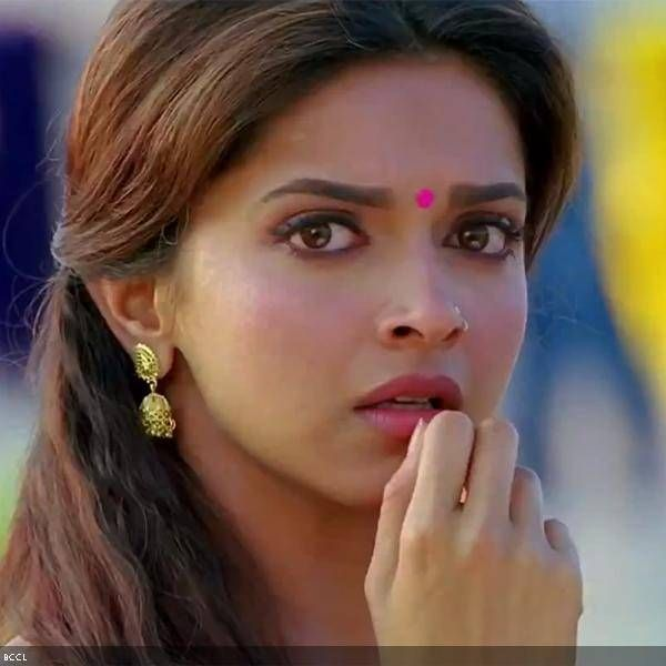 Deepika Padukone in a still from the film Chennai Express ...