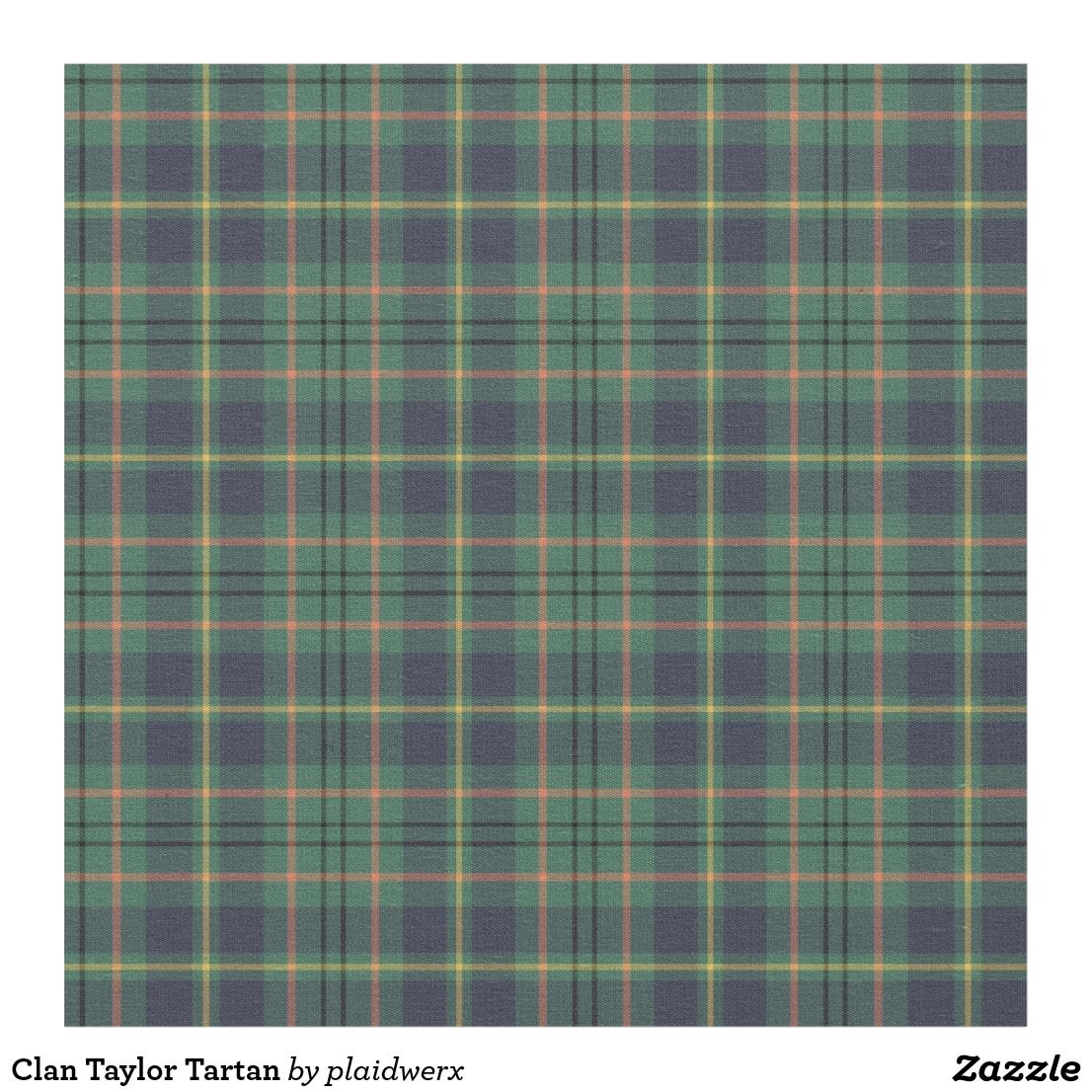 832b93e9a2 Fabric with the Clan Taylor tartan, dated to 1955. Traditional Scottish plaid  pattern in light green and navy blue, with light orange, yellow, and black  ...
