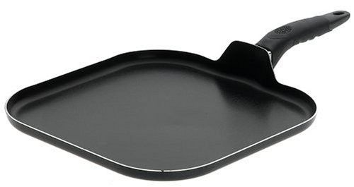 Mirro A79713 Get A Grip Aluminum Nonstick Griddle Cookware 11 Inch Black Griddles Cookware Essentials Griddle For Gas Stove