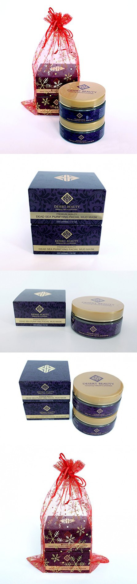 Gift Set 2 In 1 Spa Quality Authentic Dead Sea Mud Mask For At Home Soap Ampamp Glory Irresistibubble