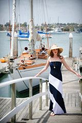 Maxi with a Swirl – Navy - Tailor and Stylist