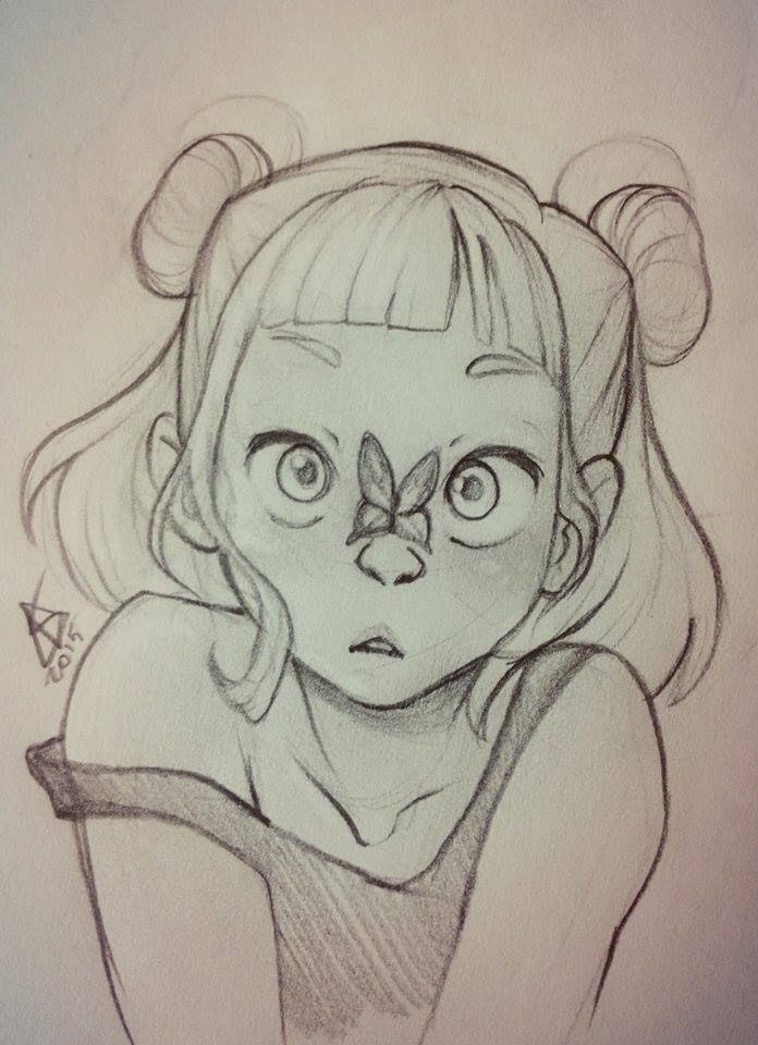 D Line Drawings Not Working : I m not dead swear just working é è cute
