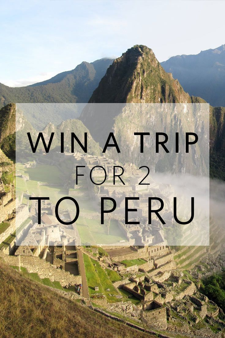 Want to go to Peru? Enter to win the #NisoloGiveaway - a Trip for 2 to Peru. Plus, everyone wins $25 to Nisolo. Enter Now: http://nisolo.co/perutrip