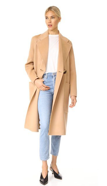 9ef50df43c48 carice double trench coat by Acne Studios. This oversized Acne Studios  trench coat is composed of luxurious wool-cashmere felt. The crossover  placket is ...