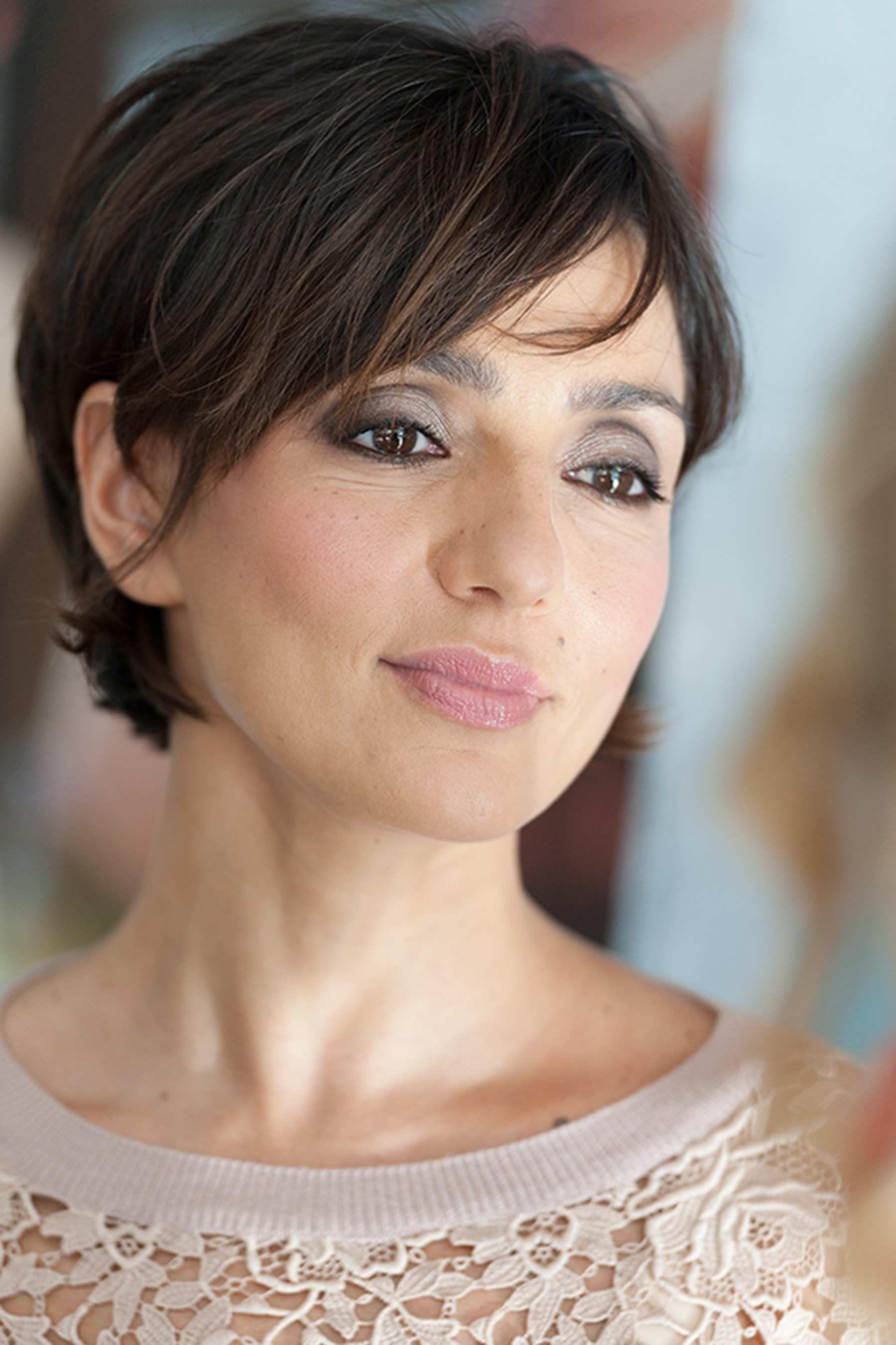 Ambra Angiolini Hair And Make Up Short Hair Styles Hair Cuts E