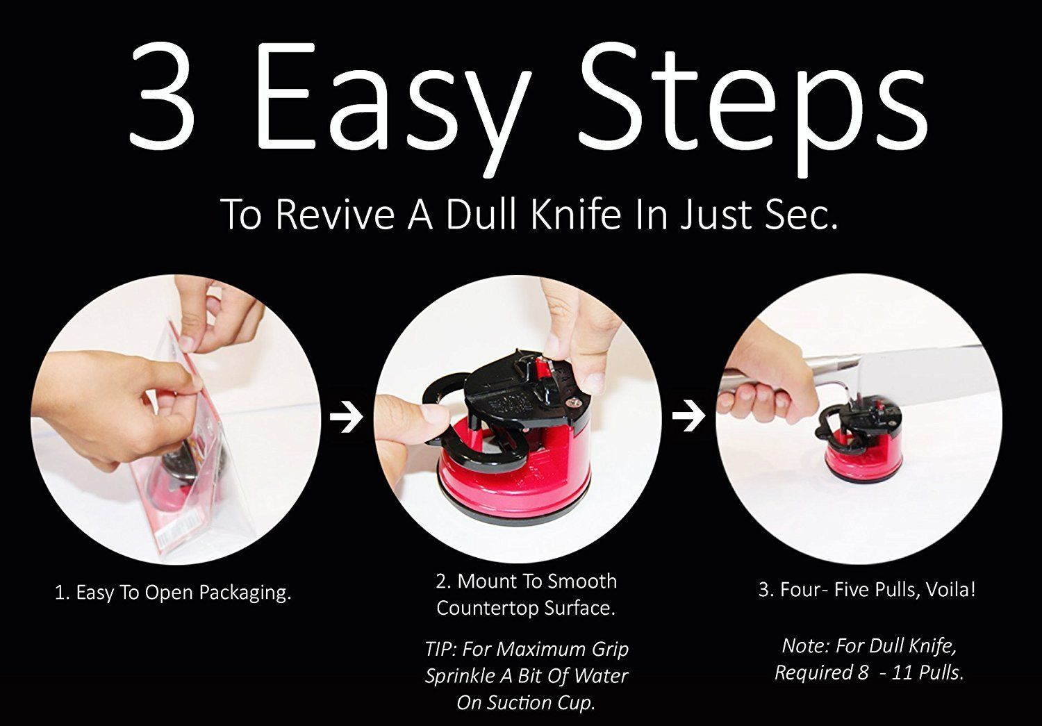 Com Sunrisepro Supreme Knife Sharpener For All Blade Types Razor Sharp Precision