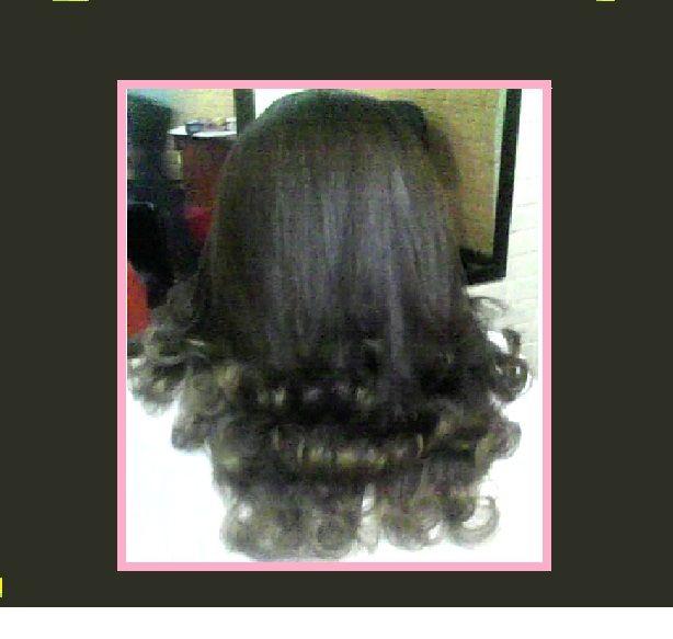 planchado con puntas hacia afuera!!! | hermosos peinados