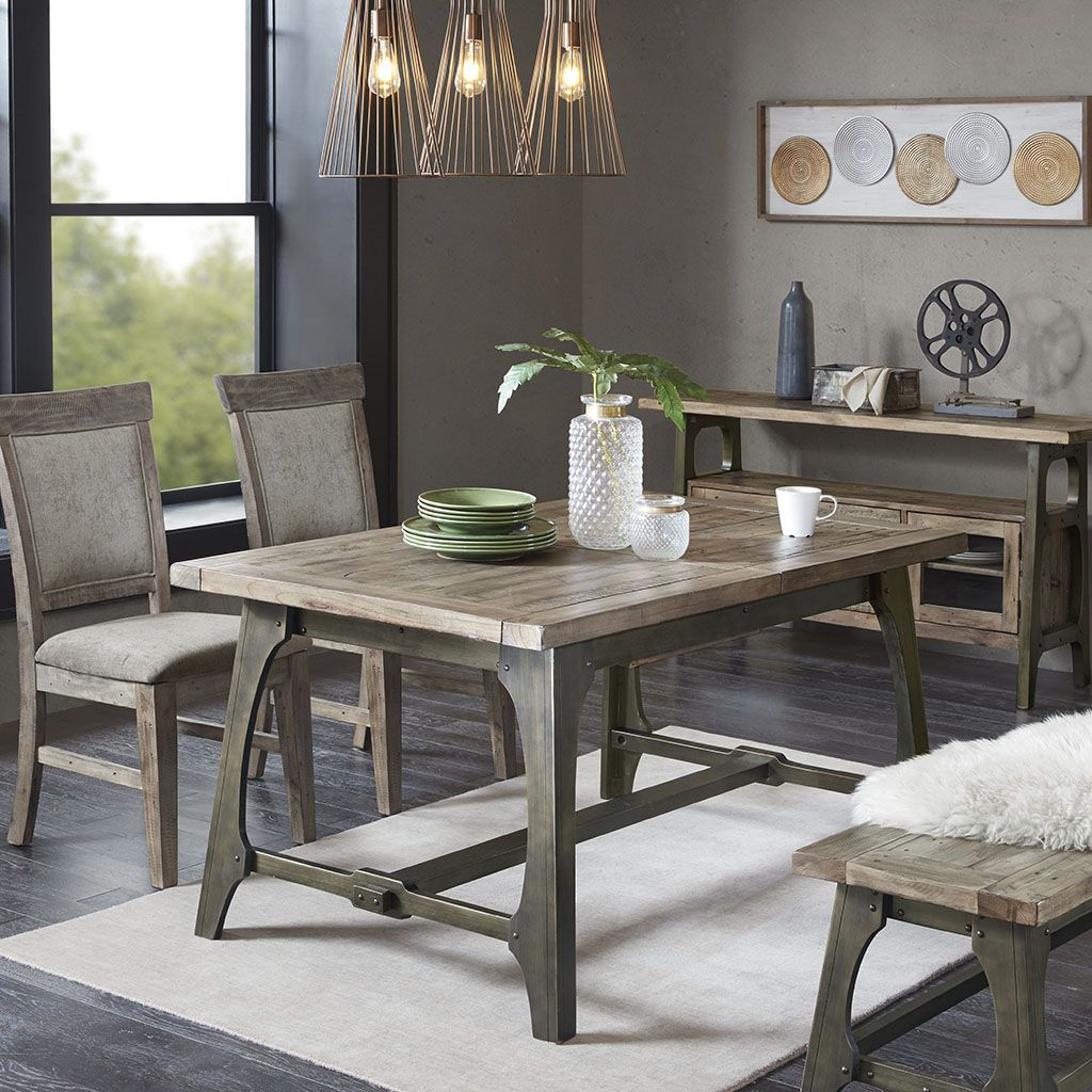 ink ivy oliver extension dining table amy extension dining table rh pinterest com