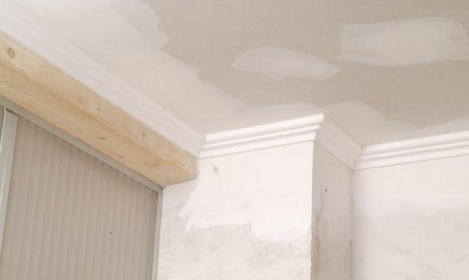 pintar techo de yeso laminado y molduras de poliestireno bricomana - Bricomania Pintura