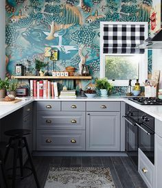 pin by jenna tracy on paper for the walls pinterest kitchen rh pinterest com