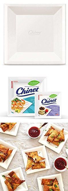 Disposable Square Plates. Chinet Classic White Dessert Plate White Square 6-3/8 Inch 35 Count. #disposable #square #plates #disposablesquare # ...  sc 1 st  Pinterest & Disposable Square Plates. Chinet Classic White Dessert Plate White ...