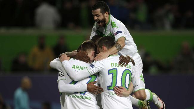 Champ.League 15/16: VFL Wolfsburg - Real Madrid 2:0