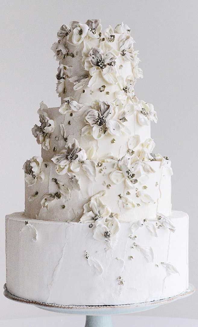 79 painted wedding cakes that are really pretty!