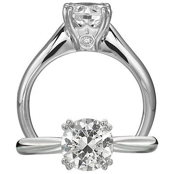 Ritani 1R1232HH Engagement Ring 1705 Ritani Diamond Engagement