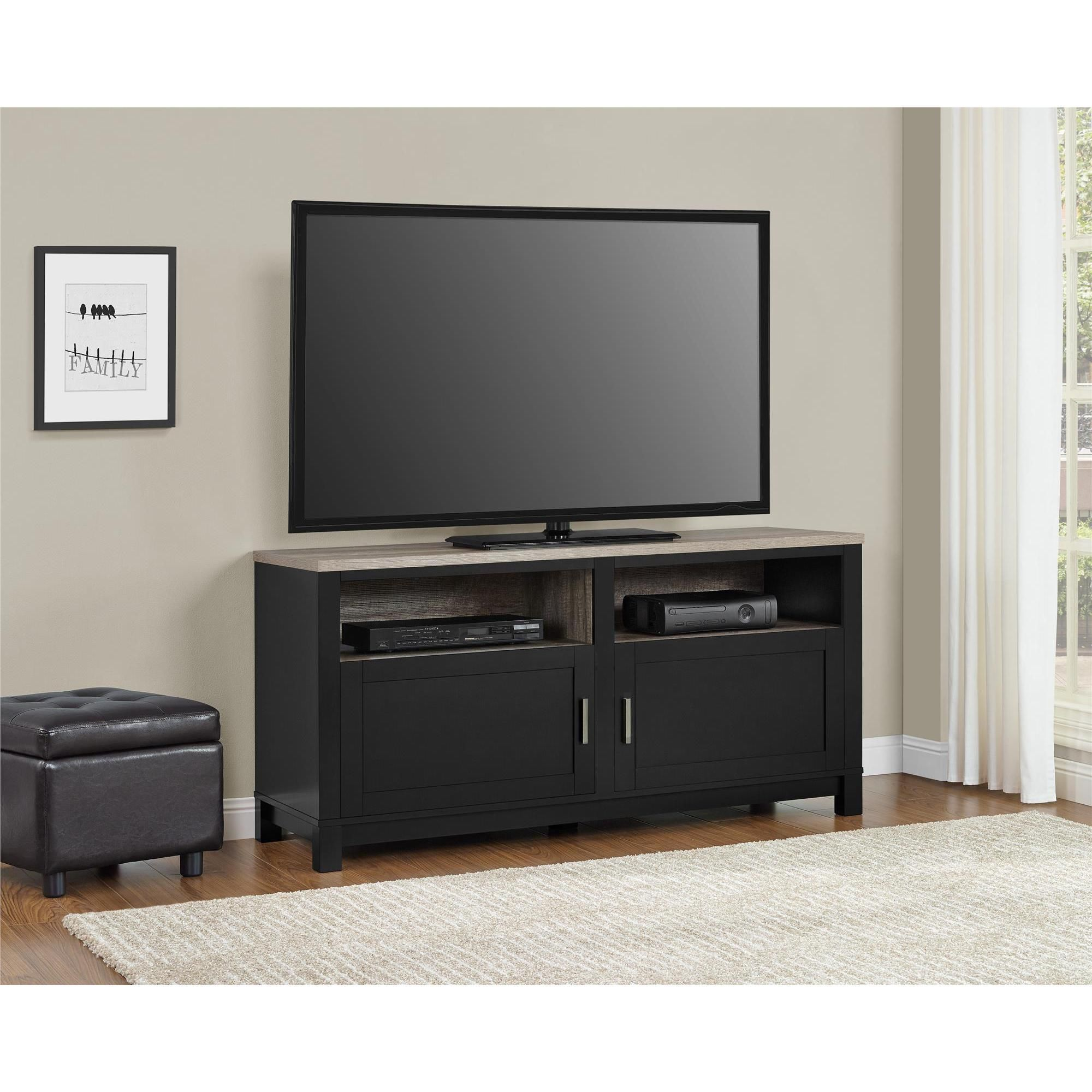 Porch Den Wicker Park Le Moyne Black 60 Inch Tv Stand Tv Stand