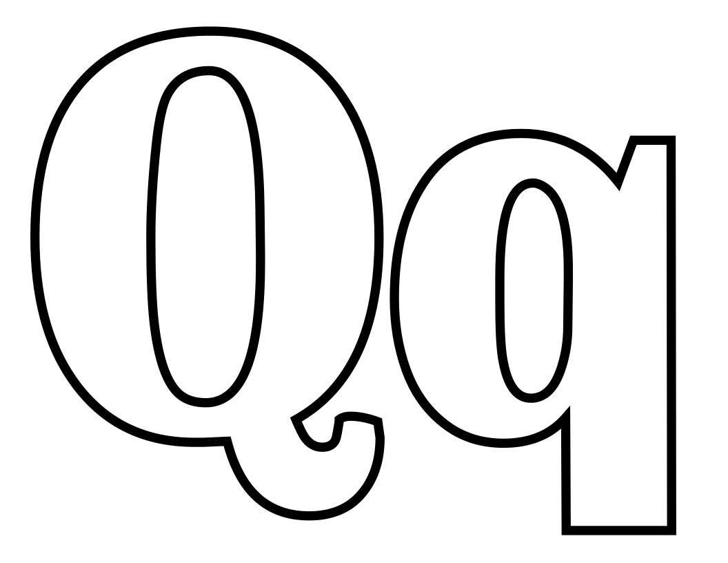 Q Tip Coloring Page Alphabet Coloring Pages Name Coloring Pages Coloring Pages