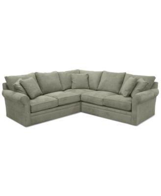Furniture Doss Ii 3 Pc Fabric Fabric Sectional Couches For Sale Sectional
