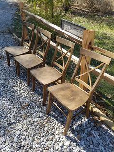 rustic chairs four beautiful rustic wood malaysian oak solid wood x rh pinterest com