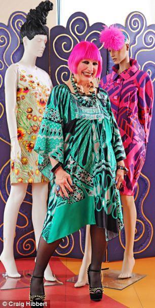 Zandra rhodes fashion designer 36
