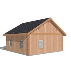 High Quality This Barn Pros Workshop Engineered Permit Ready Wood Garage Package Is The  Ideal Building For Vehicle Parking And Storage.