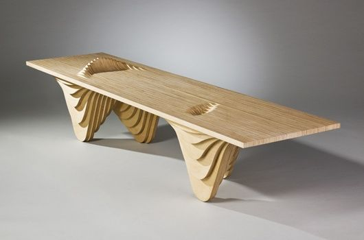 Modern Plywood Table   Google Search