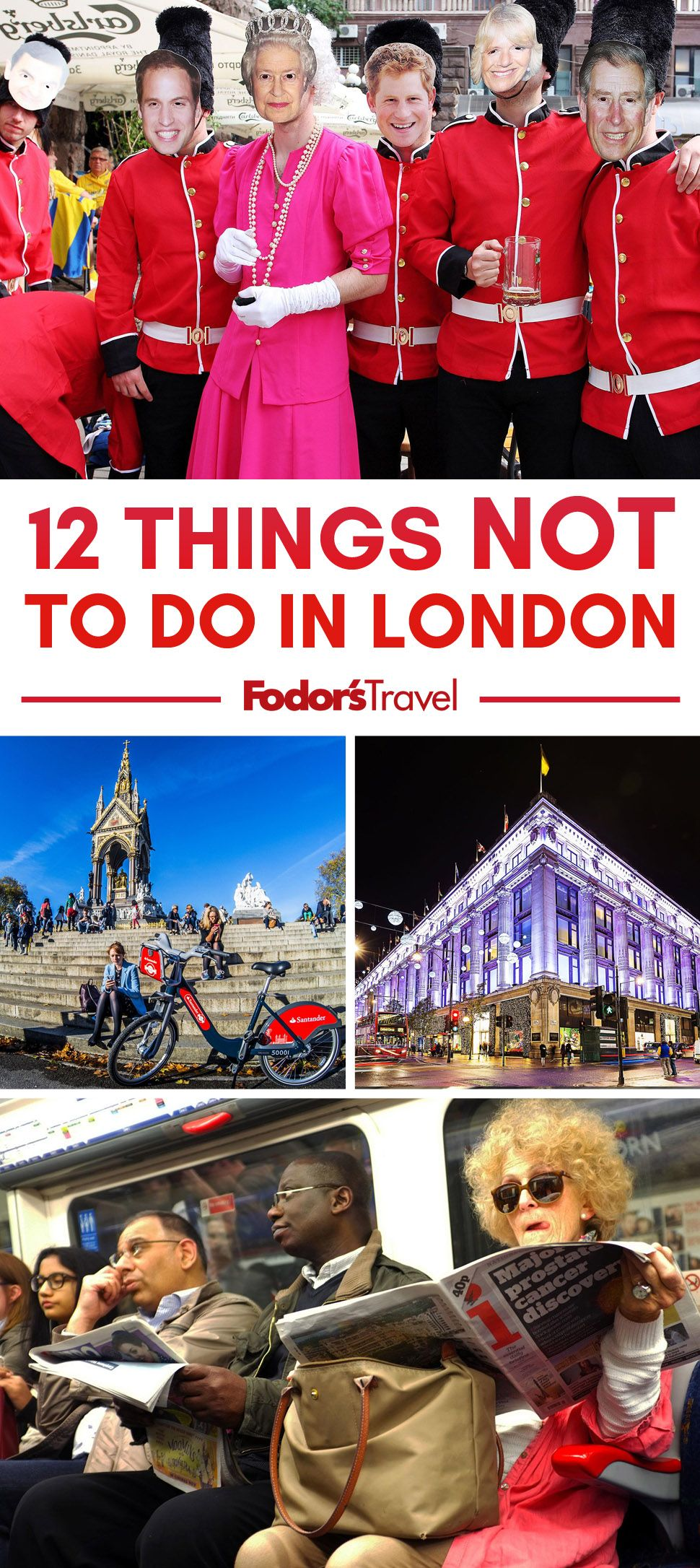 Want to visit London like a Londoner? #London #England #UK #TravelTips