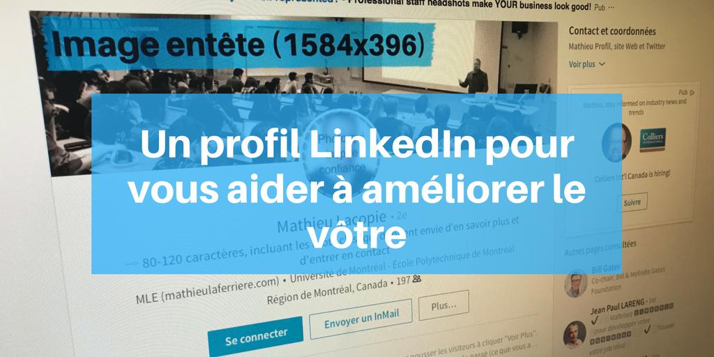 Comment optimiser son profil LinkedIn Profil, Montréal