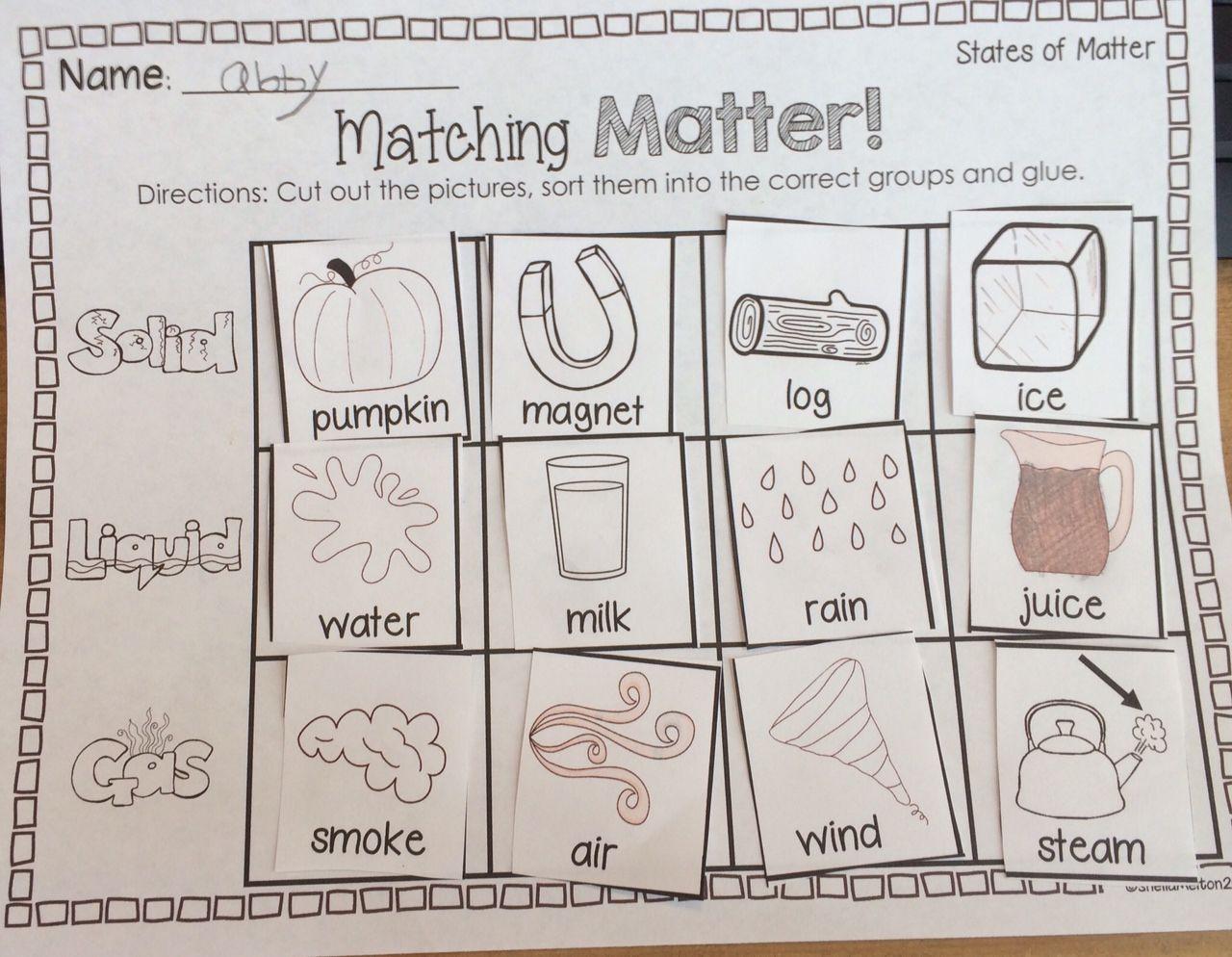 States Of Matter Freebie Sorting States Of Matter States Of Matter Matter Science States Of Matter Worksheet [ 994 x 1280 Pixel ]